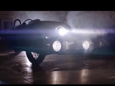 É elétrico e muito cool! É o Morgan EV3
