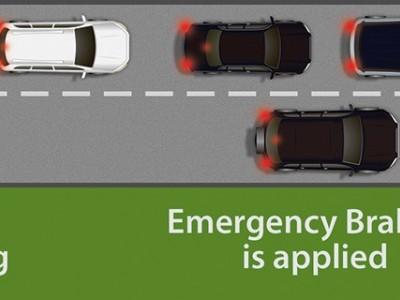 Travagem autónoma de emergência passa a ser de serie