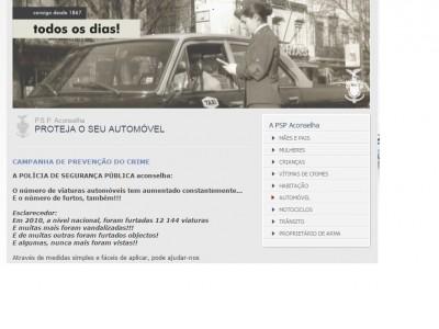 A PSP aconselha: proteja o seu automóvel!