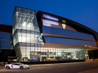 Maior Stand da Lamborghini está localizado no Dubai