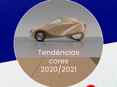 Veja as novas tendências de cores nos automóveis 2020/2021