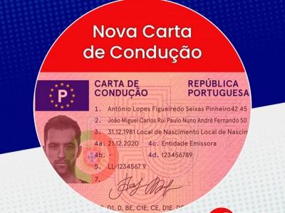 Nova Carta de Condução