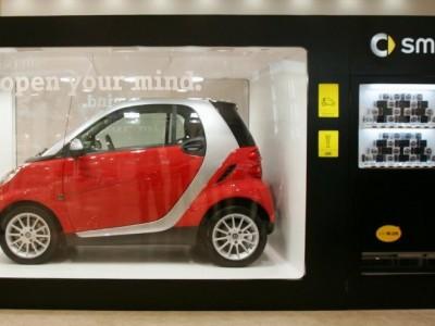 Maquina de Vending de carros usados.