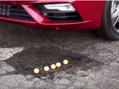 """Já conhece os pneus que """"sobrevoam"""" buracos na estrada!"""